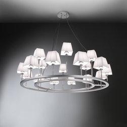 Bover - Lampara XVIII Chandelier | Bover - Design by Joana Bover, 2008.