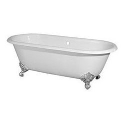 Randolph Morris Cast Iron Clawfoot Tub - Double Ended Clawfoot Tub by Randolph Morris. Brand-new Traditional Porcelain over Cast Iron Construction. Imperial Claw Feet.