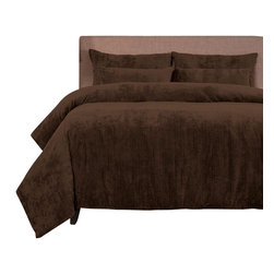 SIS Covers - SIS Covers Draper Cognac Duvet Set - 6 Piece Full Duvet Set - 4 Piece Twin Duvet Set Duvet 67x88, 1 Std Sham 26x20, 1 26x14 dec pillow. 6 Piece Full Duvet Set Duvet 86x88, 2 Std Shams 26x20, 2 26x14 dec pillow. 6 Piece Queen Duvet Set Duvet 94x98, 2 Qn Shams 30x20, 2 26x14 dec pillow. 6 Piece California King Duvet Set Duvet 104x100, 2 Kg Shams 36x20, 2 26x14 dec pillow6 Piece King Duvet Set Duvet 104x98, 2 Kg Shams 36x20, 2 26x14 dec pillow. Fabric Content 1 96 Polyester 4 Nylon, Fabric Content 2 100 Polyester. Guarantee Workmanship and materials for the life of the product. SIScovers cannot be responsible for normal fabric wear, sun damage, or damage caused by misuse. Care instructions Machine Wash. Features Reversible Duvet and Shams.