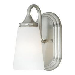 Vaxcel Lighting - Vaxcel Lighting W0056 Lorimer 1 Light Bathroom Sconce - Features: