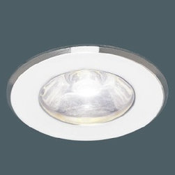 """Kania LED - Kido recessed light - Product description:  The Kido recessed light has been designed by the German engineer Martin Kania. The kido LED is available in 3 finishes. Several LED colors are available. Kania redesigned and improved the LED line for professional requirements; the result is the new outstanding LED PRO series solving even the most demanding of tasks. Kaniaexclusively use Power LEDs. Power LEDs are the world, s brightest LEDs offering up to 140 lumens per single source and are available in a variety of configurations.   Most of the lights are in stock and ready to ship!    Advantages        State of the arttechnology      Energy efficiency up to 90%      No ultraviolet or infrared radiation       Extremely long life, up to 50,000 hours      Low-voltage power supply      Very low early failure rate      Durable      High color efficiency      1W or 3W power LED (4W are coming up )      White LED 3300K, 4200K or 5500K      Color LED available in red, blue green and amber      Power acrylic and glass lenses      Timeless design      Other finishes and LED colors on request                                      Manufacturer:               Kania                                  Design:                             Martin Kania                                                Made in:              Germany                                  Dimensions:                             D/d 1.4"""" x H 0.06"""" x MH 0.98""""              Ø 35 mm x H 1.5 mm x MH 25 mm                                                Light bulb:                             1 x 1W Power LED light                                                 Material                             metal, glass"""