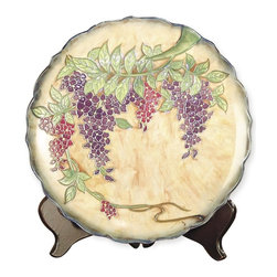 Dale Tiffany - New Dale Tiffany Plate Ceramic Painted - Product Details