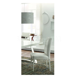 Rossetto - Nightfly White Padded Chair - Features: