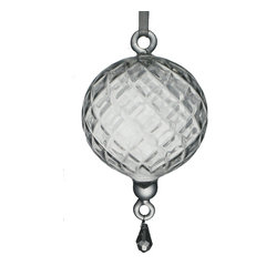 Diamond Cut Christmas Ornament
