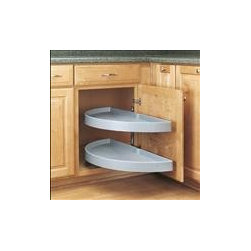 Kitchen Magic Products - Blind lazy suzan adds space to corner countertops. Kitchen Magic, Inc.