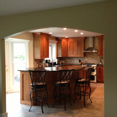Traditional Kitchen by P&M Renovations