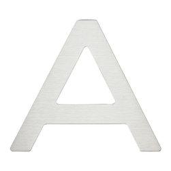 Atlas Homewares - Stainless Steel Paragon Letter A (ATHPGNASS) - Stainless Steel Paragon Letter A