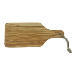 "Berard - Berard Olive Wood Craftsman's Quality Cutting Board with Handle - 10.1"" x 4.7"" x - Made with craftsman's quality this Berard olive wood board is ideal for slicing and cutting fruit.  Cutting board has a handle to make handling effortless.  Make your next party a hit with some perfectly sliced fruit salad.  Berard recommends hand washing their olive wood utensils and tools.  Cutting board measures 10.1 inches by 4.7 inches by .27 inches long and weighs 1 pound, 8 ounces."