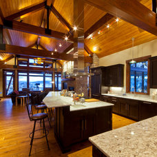Contemporary Kitchen by Kelly & Stone Architects