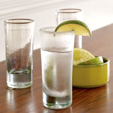 modern barware by West Elm
