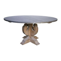 NOIR - NOIR Furniture - Curlin Dining Table - Features: