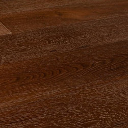 "Vanier - Vanier Engineered Hardwood - Monaco Collection - [29.3 sq ft/box] - Monte Carlo Brown / 7"" -  With naturally enhanced grain patterns that appear on each plank, the Vanier Monaco Collection is comprised of dark, bold wood brought to life with subtle whitewashing.  Get the exceptional quality of engineered flooring with outstanding style  With its authentic look and feel, the simple and often minimalist design quality of the Vanier Monaco Collection of flooring allows your design aesthetic to take center stage. A bold and unique style, this wide plank flooring product, with its fine beveled edges, will lend an air of rustic elegance to your home.  At BuildDirect, we offer you the best for less, every day of the week  With the Vanier Monaco Collection, BuildDirect offers you more for your money because this product has the highest quality on the market. We work hard to negotiate the best possible deals on the market today so that you get more for less, and so that your investment in your floor is worth every penny.  Get the floor you want at a price you and your family can afford. BuildDirect's commitment to delivering the lowest prices means that we pass our savings on to you and your family. Trust BuildDirect to find the best price available."