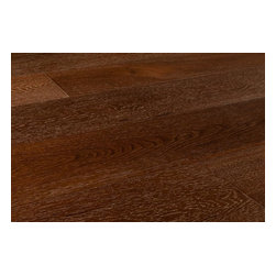 """Vanier - Vanier Engineered Hardwood - Monaco Collection - [29.3 sq ft/box] - Monte Carlo Brown / 7"""" -  With naturally enhanced grain patterns that appear on each plank, the Vanier Monaco Collection is comprised of dark, bold wood brought to life with subtle whitewashing.  Get the exceptional quality of engineered flooring with outstanding style  With its authentic look and feel, the simple and often minimalist design quality of the Vanier Monaco Collection of flooring allows your design aesthetic to take center stage. A bold and unique style, this wide plank flooring product, with its fine beveled edges, will lend an air of rustic elegance to your home.  At BuildDirect, we offer you the best for less, every day of the week  With the Vanier Monaco Collection, BuildDirect offers you more for your money because this product has the highest quality on the market. We work hard to negotiate the best possible deals on the market today so that you get more for less, and so that your investment in your floor is worth every penny.  Get the floor you want at a price you and your family can afford. BuildDirect's commitment to delivering the lowest prices means that we pass our savings on to you and your family. Trust BuildDirect to find the best price available."""