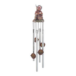 GSC - Wind Chime Round Top Indian Chief Musical Hanging Garden Decoration - This gorgeous Wind Chime Round Top Indian Chief Musical Hanging Garden Decoration has the finest details and highest quality you will find anywhere! Wind Chime Round Top Indian Chief Musical Hanging Garden Decoration is truly remarkable.