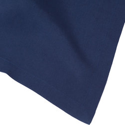 """Huddleson - Navy Blue Linen Table Runner 14x90 - """"Navy Blue Linen Table Runner.  Not all linens are created equal. The Italian linen Huddleson uses to make our napkins, tablecloths, placemats and runners is the finest quality available. The result is a collection of table linens that look better, feel better, absorb better, wash better and last longer than the others. These linen tablecloths are perfect for everyday dining or to dress the table for a special occasion.  Ever versatile, it looks beautiful with any style or pattern of napkin or china.  Machine washable, this tablecloth gets even softer and more beautiful with use.  You're only committing to making mealtimes a little more special."""