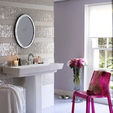 striped tile wall