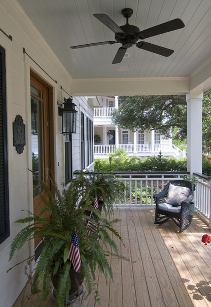 Traditional Porch by Southern Studio Interior Design