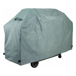 ONWARD MFG CO - Xlarge Full Length Grill Cover - 500 x 300d PEVA/Polyester grill cover. Durable and weather resistant PEVA outer shell with polyester lining. Hook-and-loop closures and hanging loop.