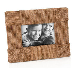 Reed & Barton Picture Frame, Montauk - For the nautically inclined, this Reed & Barton frame is sure to be a winner. The rope will create plenty of texture with the frames already in your collection.