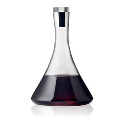 MENU - Wine Decanter - A table simply looks more set when your bottle of wine is served in a decanter. And not only does it look more polished, but it makes the wine taste better, too. Don't you love it when little efforts make a substantial difference?
