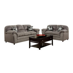 Chelsea Home Furniture - Chelsea Home Joyce 2-Piece Living Room Set in Victory Lane Dolphin - Joyce 2-Piece living room set in Victory Lane Dolphin belongs to the Chelsea Home Furniture collection