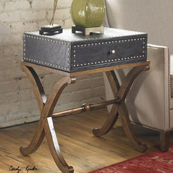 Uttermost - Uttermost - Lok Accent Table - 24320 - Features: