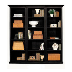 Tuscan Flush Bookcase Set - 3 Piece