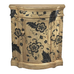 Sterling Lighting - Lynwood Cabinet - One door. Made from wood. 36 in. W x 12 in. D x 42 in. H