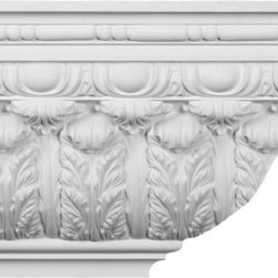 uDecor - CM-5076 Crown Molding - Crown molding is manufactured with a dense architectural polyurethane compound (not Styrofoam) that allows it to be semi-flexible and 100% waterproof. This molding is delivered pre-primed for paint. It is installed with architectural adhesive and/or finish nails. It can also be finished with caulk, spackle and your choice of paint, just like wood or MDF. A major advantage of polyurethane is that it will not expand, constrict or warp over time with changes in temperature or humidity. It's safe to install in rooms with the presence of moisture like bathrooms and kitchens. This product will not encourage the growth of mold or mildew, and it will never rot.