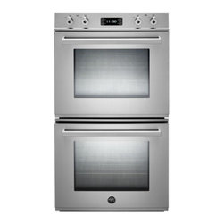 "Bertazzoni - Professional Series FD30 PRO XE 30"" Double Electric Wall Oven with 4.1 cu. ft. P - The Bertazzoni Professional Series has built-in ovens and cooktops that translate all the virtues of the original freestanding Bertazzoni ranges to the integrated kitchen"