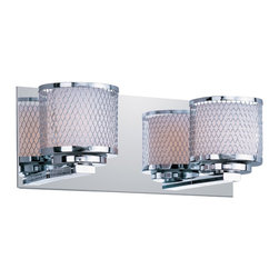 ET2 - Mesh-Bath Vanity - Mesh 2-Light Vanity