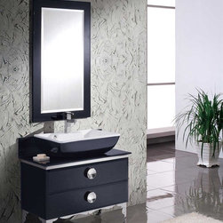 Contemporary Bathroom Vanities - Whether large or small, bathrooms are now designed to deliver both style and comfort for a user. Many are now opting for contemporary designs that suit their everyday lifestyle and show good taste. Yes, old-style and usual designs are beautiful, but they don't always provide the right look, especially to people who are putting more value in function and comfort in a reasonable yet stylish design. Here are some preferences on how to accomplish a contemporary look for your own bathroom.