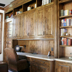 traditional home office products by C&S Cabinets, Inc