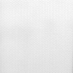 Brewster Home Fashions - Knit Crocheted Texture Paintable Wallpaper Swatch - Bring warmth and character to your walls with this paintable wallcovering.  This paintable design has a texture similar to soft wool knitting and is a great solution for wall imperfections. Our paintables can easily be customized with the paint color of your choice or enjoyed as is in clean white.