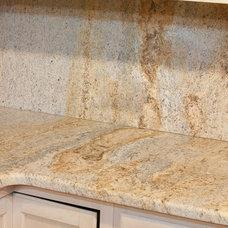 Eclectic Kitchen Countertops by Granite Grannies