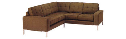 modern sectional sofas G. Romano Chelsea 2pc Sectional Sofa