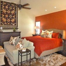 Mediterranean Bedroom by JAG Interiors, Inc.