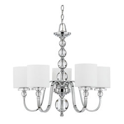 Quoizel Lighting - Quoizel Dw5005 5 Light Up Light Chandelier - For over seventy years, Quoizel lighting has been dedicated to the design and production of its diversified line of fine lighting products and home accessories. Quoizel is well known for its skilled craftsmanship and the ultimate care that goes into manufacturing each piece of exquisite lighting that it has to offer. In addition, Quoizel lighting features an excellent selection of the ever popular stained glass Tiffany lamps.