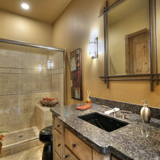 Transitional Bathroom by Cullum Homes and  Renovations