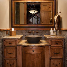 Traditional Vanity Tops And Side Splashes by Masterpiece Millwork & Door