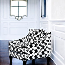 Contemporary Chairs by Libby Langdon Interiors, Inc.