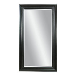 Bassett Mirror - Plantation Mahogany Floor Mirror - Plantation Mahogany Finish - Leaner. Measures: 42 in. W x 80 in. H. Weight: 82 lbs