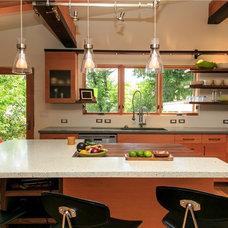Contemporary Kitchen Countertops by CounterKULTURE Concrete Studio