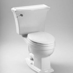 "TOTO - TOTO CST784EF#11 Eco Clayton Toilet, 1.28 GPF, Colonial White - TOTO CST784EF#11 Eco Clayton Toilet, 1.28 GPF, Colonial White Vitreous china elongated two piece toilet with 12"" rough-in. Low consumption (4.8 Lpf/1.28 Gpf) siphon jet flushing action. Tank cover, fittings, color matched and chrome plated trip lever, mounting covers included, less seat. TOTO CST784EF#11 Eco Clayton Toilet, 1.28 GPF, Colonial White Features: Traditional design two piece toilet The Clayton Suite: Matching toilet, bidet and lavatories Universal height for maximum comfort E-Max Flushing System (1.28GPF / 4.8 LPF) Upgrade with a Traditional SoftClose seat or a Washlet Fast Flush: Wide 3"" flush valve is 125% larger than conventional 2"" flush valves ADA Compliant Large water surface CalGreen compliant *Image shown may vary by color, finish, or material"