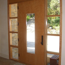 Modern Front Doors by Artistic Millworks