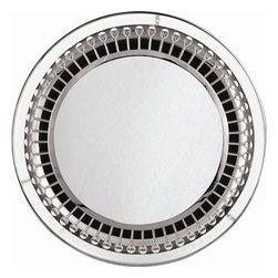 Robert Abbey - Jonathan Adler Mayfair 1 Light Backlit Mirror - Product Dimensions:  28 x 3 x 28 inches