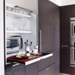 contemporary kitchen by Lisa Wilson-Wirth, CKD