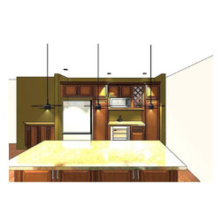 Custom Kitchen CabCustom Cabinetry 3Dinetry 3D Rendering Cabinets Design & Ideas - Get Latest 3D Rendering Interior Structure for your Custom Kitchen Cabinetry 3D Rendering Cabinets Design & Ideas, photos, and Design layout