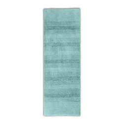 """Garland Rug - Bath Mat: Accent Rug: Essence Sea Foam 22"""" x 60"""" Bathroom - Shop for Flooring at The Home Depot. Essence Bath Rugs will complement any bathroom decor. The distinctive stripe pattern gives a modern look. Essence Bath Rugs are made with 100% Nylon for superior softness and quality. Proudly made in the USA."""
