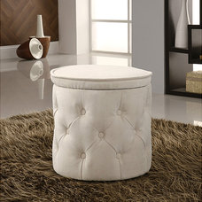 contemporary ottomans and cubes by Overstock.com